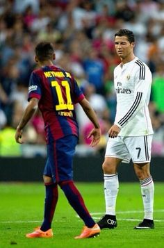 Cristiano Ronaldo & Neymar Jr