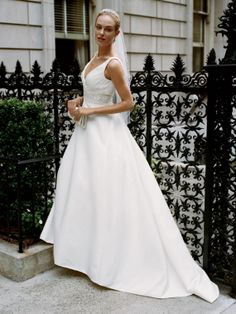 Beautiful A-Line Wedding Dresses 2011