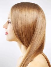 Avoid alcohol-based styling products that strip your hair of its natural moisture and lead to dry, brittle locks. Pass on styling aids with alcohol denat (denatured), ethanol, propanol, and isopropyl alcohol. Fatty alcohols, however, are moisturizing, and can be identified as stearyl, cetyl, and myristyl alcohols.
