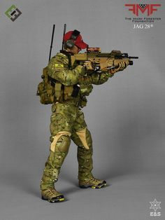 Dragon Models US Special Forces Sniper Patrol Set Camo /& Cover loose 1//6th scale