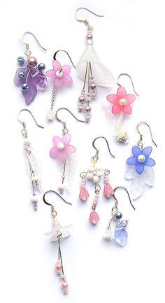 beaded earrings making I Love Jewelry, Jewelry Design, Jewelry Making, Diy Schmuck, Schmuck Design, How To Make Earrings, Bead Earrings, Earrings Online, Earrings Handmade