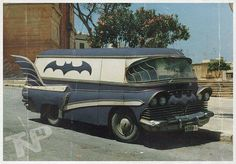 Funny pictures about Rare Vintage Batmobile Van. Oh, and cool pics about Rare Vintage Batmobile Van. Also, Rare Vintage Batmobile Van photos. Strange Cars, Weird Cars, Crazy Cars, Bmw Autos, Cool Vans, Custom Vans, Custom Rat Rods, Hot Cars, Concept Cars