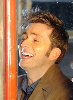 David Tennant ~ Oh that laugh! ♥♥ Ten, I miss you so much. I can't wait to  see you in the 50th <3