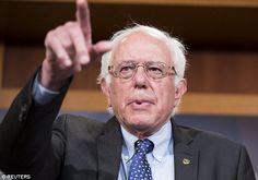 'Delighted': Socialist Democrat hopeful Bernie Sanders applauded Jeremy Corbyn's landslide victory