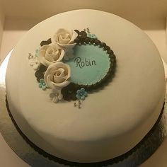 Cake Decorating Piping, Deserts, Food And Drink, Birthday Cake, Sweets, Cakes, Marzipan, Eat, Tips