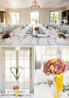 A Chic Modern Wedding in Sweden with a Pop of Yellow ~ UK Wedding Blog ~ Whimsical Wonderland Weddings
