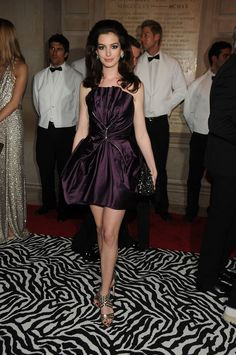 Anne Hathaway at the MET Gala 2009 in New York.