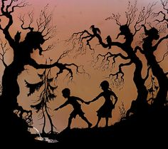 Something about this just grabs me by the inside....lotte reiniger art.