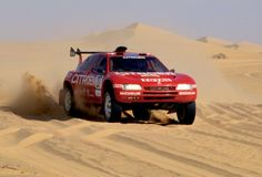 On 29th December 1990 the ZX Grand Raid left Paris and set off for Dakar via Tripoli. After 6,747 timed kilometres Ari Vatanen