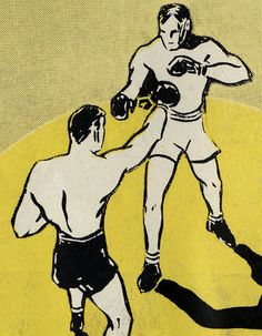 Golden Gloves program, collection of Chicago History Museum.