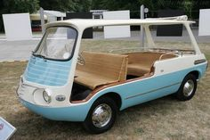summer ride. Fiat 600 Multipla Marinella