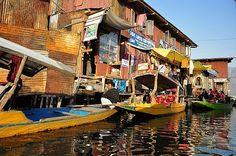 srinagar floating market - Google-søk