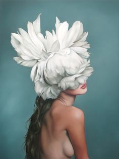 Bountiful Bonnet shown in Amy Judd's solo show with us 15th - 30th May 2015 #OilPaintingPortrait
