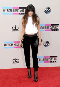 Television personality Kylie Jenner attends the 2013 American Music Awards at Nokia Theatre L.A. Live on November 24, 2013 in Los Angeles, California.