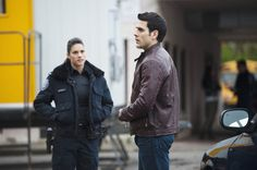 Rookie Blue - Sam and Andy.
