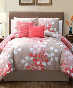 Look what I found on #zulily! Taupe Rose Ellory Comforter Set #zulilyfinds