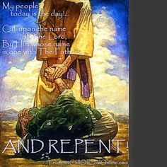 """Volume 7 """"Repent, For The Time is at Hand... And Judgment Must Now Reign""""  ~ TrumpetCallofGodOnline"""