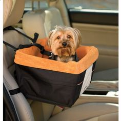 Skybox Pet Booster Seat. A soft window seat for your pup, that isnt your lap!
