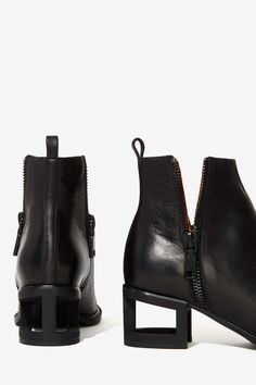 Jeffrey Campbell Boone Leather Booties
