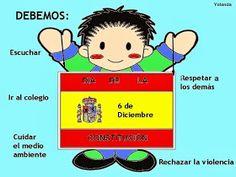 Maestra de Primaria: La Constitución Española para niños Acting, Comics, Ideas Para, Infant Activities, Activities For Kids, Respect Others, Constitution Day, Cartoons, Comic