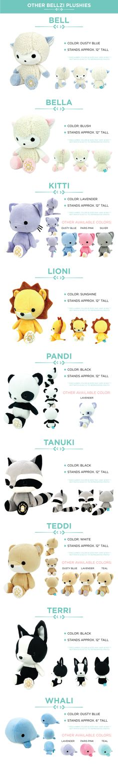 We need YOUR help to improve our production process & make Bellzi® plushies more affordable!