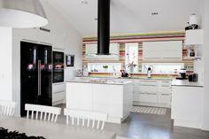 Kök från huset Briljanten - Fiskarhedenvillan. Lucka: Solid vit | Ballingslöv