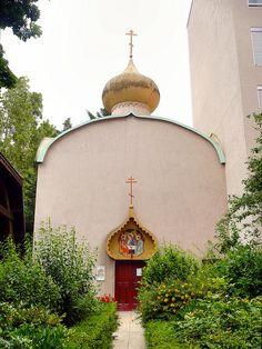 Église orthodoxe, Vanves: Église orthodoxe de la Très Sainte Trinité et des nouveaux martyrs russes, Vanves