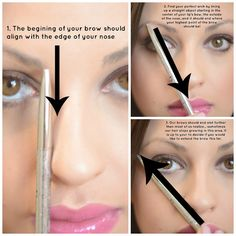 Eyebrow Tutorial #pfmakeup