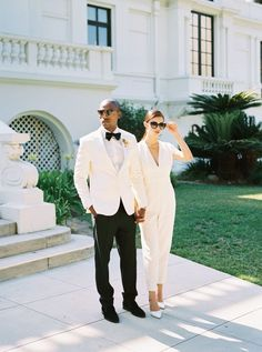 If you are a casual bride and are going for a casual wedding, if you are going to elope or tie the knot in the city hall and don't want to look too formal, Boho Jumpsuit, Wedding Jumpsuit, Casual Bride, Casual Wedding, Elegant Wedding, Civil Wedding, Wedding Bride, Wedding Dresses, Wedding Blog