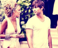 Blake Lively and Chase Crawford