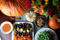 New #OntheBlog: Roasted #Autumn #Harvest Salad #Recipe+ #Birthday Flowers! http://www.foodandflight.com/recipe-items/roasted-autumn-harvest-salad/