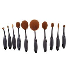 Without box to provide free shipping. Easily and beautifully crafted to blend foundation, powder, cream, fluid, moisturizers and primers seamlessly into your skin. Type: MakeUp Brush Style: Portable Compact. We also sell the brush stand or brush holder. Both are over $50 dollars in regular market.