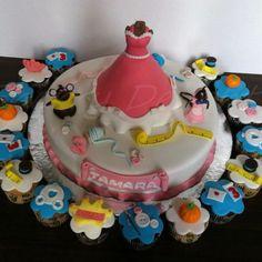 Cinderella Cake.. Adorable.. :)