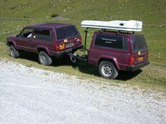 Custom Jeep Cherokee XJ Trailer