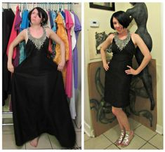 A wonderful blog - she refashions vintage finds and shows at least some of the steps!