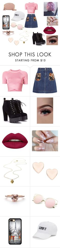 """love"" by hannah-may-malone on Polyvore featuring T By Alexander Wang, STELLA McCARTNEY, Huda Beauty, Ted Baker, SO and MICHAEL Michael Kors"