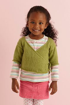 Super cute knitted kimono sweater. I've made this - it's pretty easy and a good gateway into sweater making.