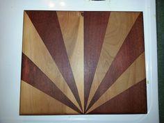 Rays of Sun Cutting board