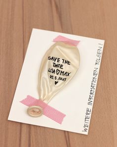Save-the-Date Inspirationen - Papeterie, Save-the-Date, Hochzeitspapeterie
