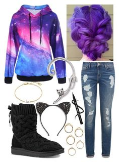 """""""Untitled #214"""" by bhappygirlz ❤ liked on Polyvore featuring Missoma, UGG, Cara and Tommy Hilfiger"""