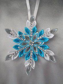 Ribbon Art, Diy Hair Bows, Diy Hairstyles, Quilt Patterns, Christmas Ornaments, Rings, Flowers, Handmade, Crafts