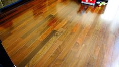 This amazing thing is a really inspirational and excellent idea Engineered Hardwood Flooring, Hardwood Floors, Brazilian Cherry Floors, Shades Of Red, Square Feet, Exotic, Contemporary Homes, Gem, House
