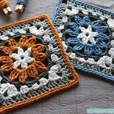 Making granny squares is simple and quick - the perfect project to help you relax and wind down after a long day. They are also great to make on the go as