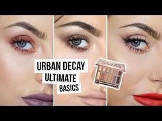 Urban Decay Naked Ultimate Basics Makeup Tutorial X3