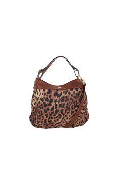 60f026c4a2dc3 Ulrika Design Väska brun/leopard