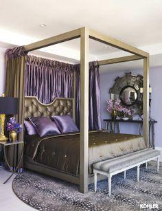 Home Ideas from KOHLER. i like the bed