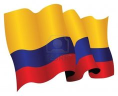 Illustration of colombian flag vector art, clipart and stock vectors. Flag Vector, Vector Art, Colombian Flag, Columbia, Crafting, Clip Art, Stock Photos, Facebook, Creative