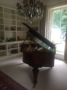 Reconditioned Blüthner Aliquot from Chiltern Pianos