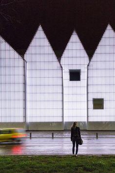 Philharmonic Hall de Szczecin do Estudio Barozzi Viega, através das lentes do…