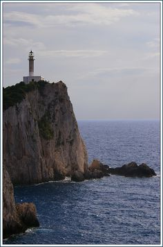 Lighthouse of Cape Lefkatas - Lefkada -Ionion - Greece